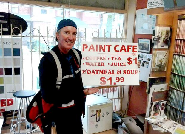Canada Post loves Paint Cafe at the paint Store